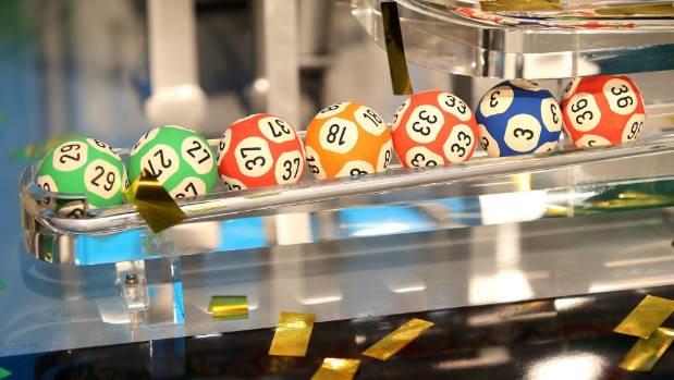The $40 million Lotto jackpot was split three ways.