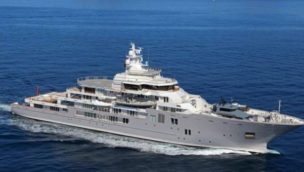 The Image From Brochure Advertising Graeme Harts 107 Metre Superyacht Ulysses