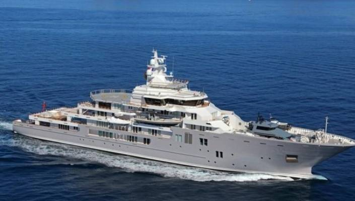 Graeme Hart superyacht for sale for $266m | Stuff co nz