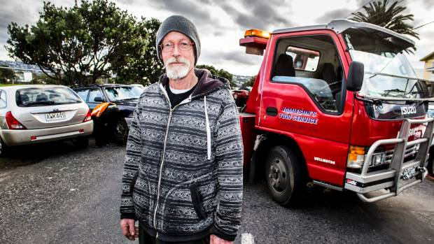 Kauri St resident Howard Rait said Wellington City Council had not consulted the community over any plans to tackle the ...