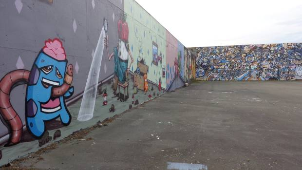 The Sydenham Murals are a fine example of what Street Art can be.
