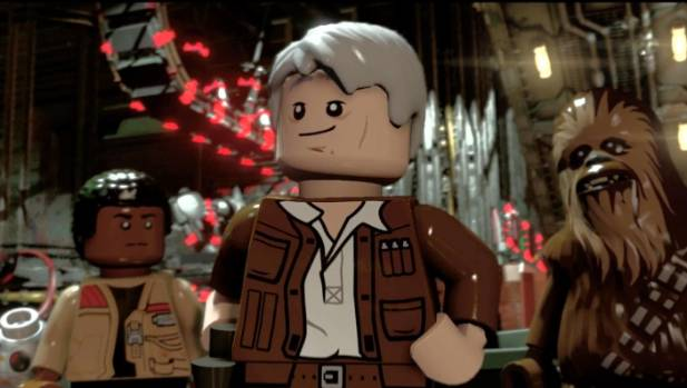 The playful banter between Chewie, Han and the rest of the gang sets the tone for some of the best original voice work ...