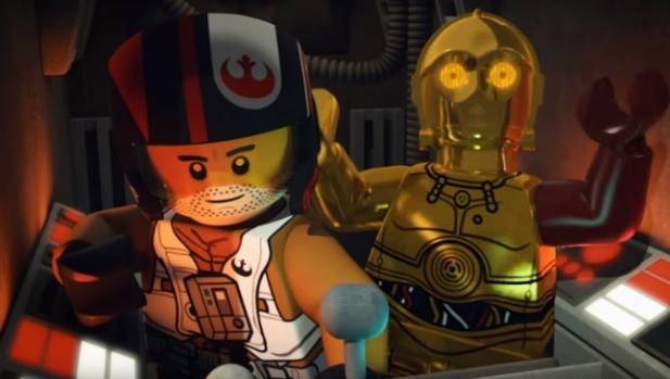 The story behind C3-P0's red arm is just one of the secrets revealed in Lego: The Force Awakens.