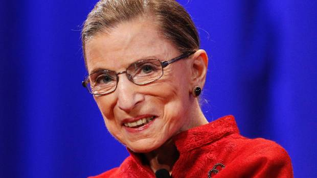 Some accused US Supreme Court Justice Ruth Bader Ginsburg of overstepping the mark when she said she would move to NZ if ...