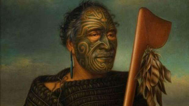 Gottfried Lindauer, Tamati Waka Nene, 1890, Auckland Art Gallery, Gift of Mr H E Partridge 1915.