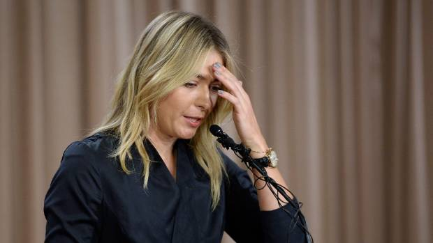 Ever since she announced her drugs violation 14 months ago, in a Black Widow gown, Sharapova has sought to stage-manage ...