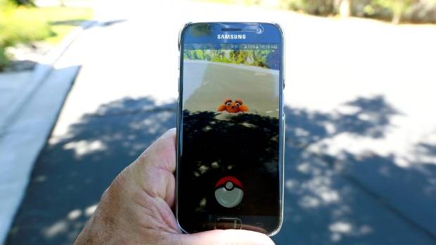 Pokemon Go creatures pop up in real world locations.