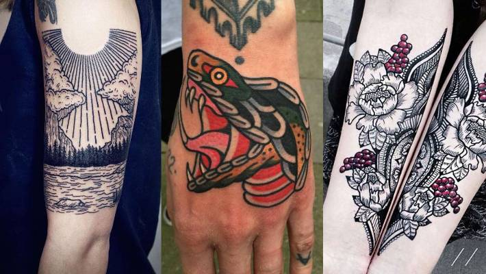d81cc52e0 These tattoos from Lisa Orth, Nick Corbett and Jessica Svartvit have us  itching for some