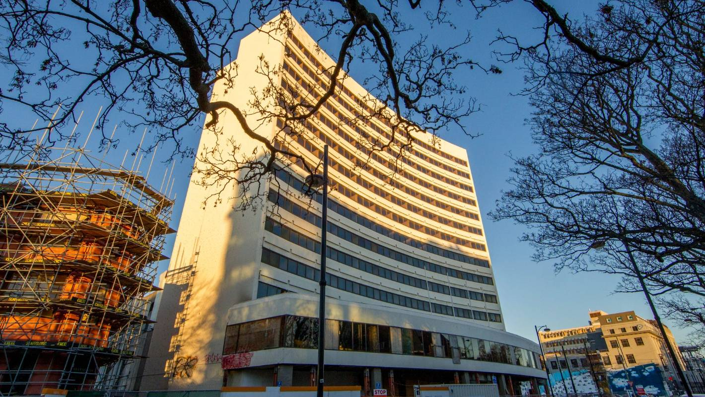 Owner of central Christchurch buildings commits to city as ...
