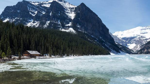 The lovely Lake Louise is one of Canada's most photographed spots