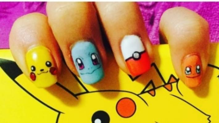 Nail Art Trend Pokemon Go Manicures Are The New Craze Stuff