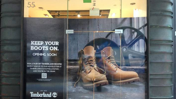 ec7c8c67 Timberland brings forward launch to coincide with opening of David ...