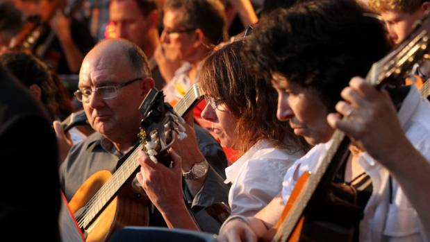 The Taranaki Classical Guitar Society organises the  Summer School every two years.