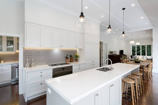 White Kitchen Nz classic kitchen right at home in a traditional mt eden villa