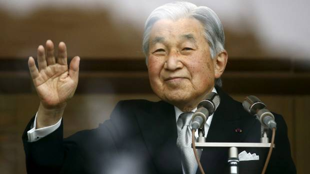 Japan S Emperor Akihito 82 Plans To Step Down Reports