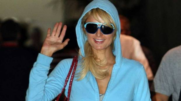 Who could forget Paris Hilton's Juicy Couture track suits? Well, they're back.