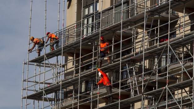 The building industry's shortage of highly trained scaffolders has become critical, Burke says.