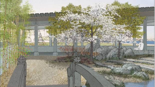 Wellington Chinese Garden Society has yet to start fundraising for the $5m needed for a new Chinese Garden in Frank ...