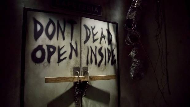 Don't Open, Dead Inside at at Universal Studios Hollywood.