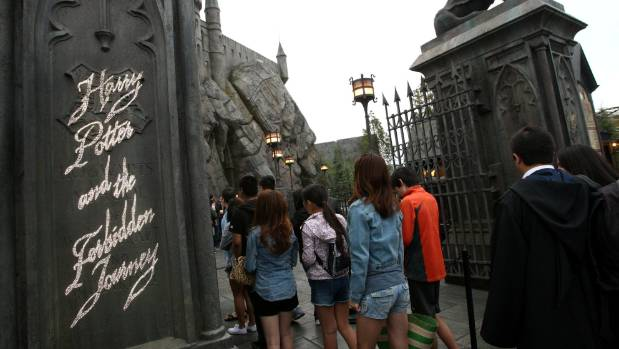 Opening of The Wizarding World Of Harry Potter At Universal Studios Hollywood on April 7, 2016.