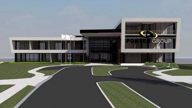 Build begun on Porter Group's new multi-million dollar ...