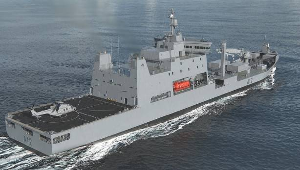 Government Spends Nearly 500 Million On New Navy Ship