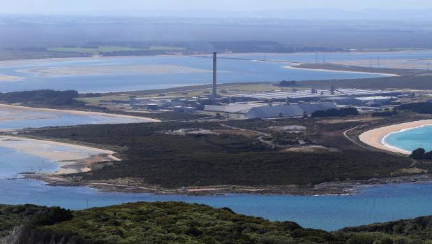 The Tiwai Point smelter is the largest consumer of electricity in the country.