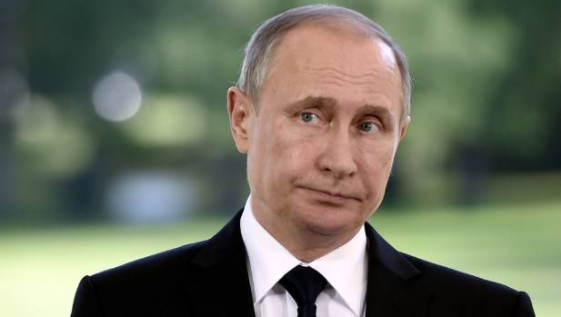 Russia's President Vladimir Putin. Russians are much more likely than Kiwis to say they prefer a strong leader to ...