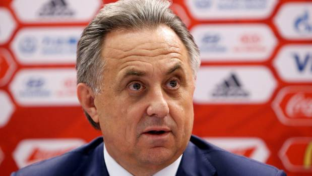 Russian Sports Minister Vitaly Mutko denies any wrongdoing in the doping scandal.