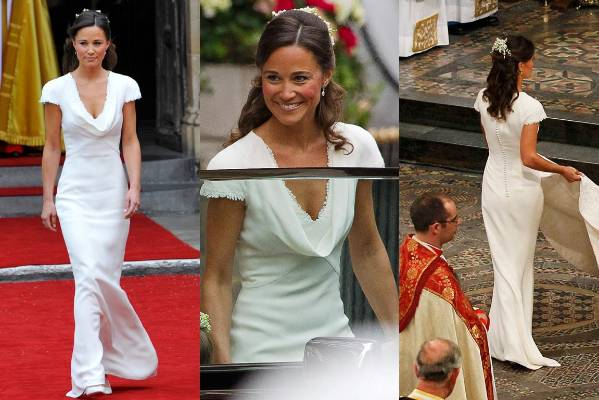 Pippa middletons best and worst looks over the years stuff 2011 it makes sense to start with pippa middletons bridesmaid dress from her sisters wedding junglespirit Image collections