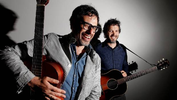 The duo comprising Jemaine Clement and Bret McKenzie are recording a show on their 22-date UK tour