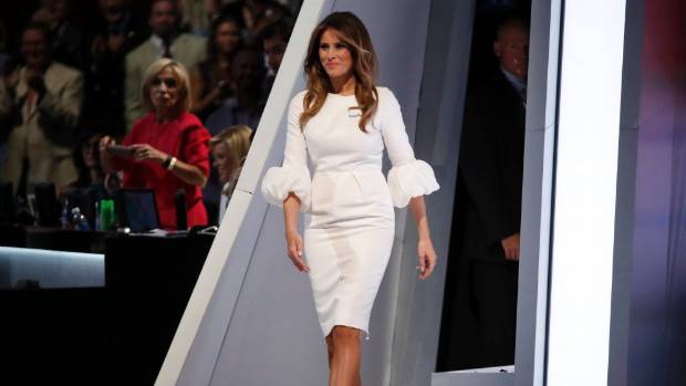 Melania Trump at the Republican National Convention in Cleveland, Ohio, last month.