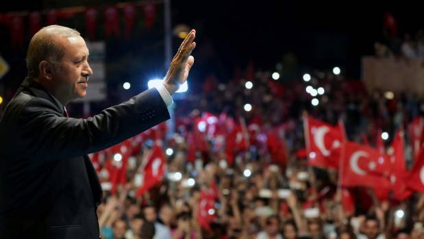 Turkish President Tayyip Erdogan said the state of emergency, which would last three months, would allow his government ...