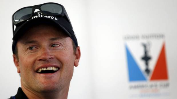 Kiwi America's Cup catamaran sidelined after collision