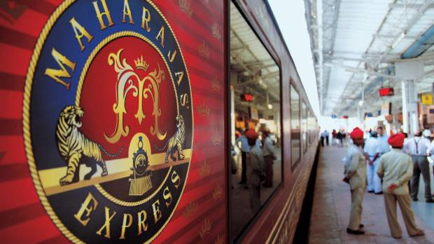 The Maharajas' Express luxury train: Journeys can be up to eight days.