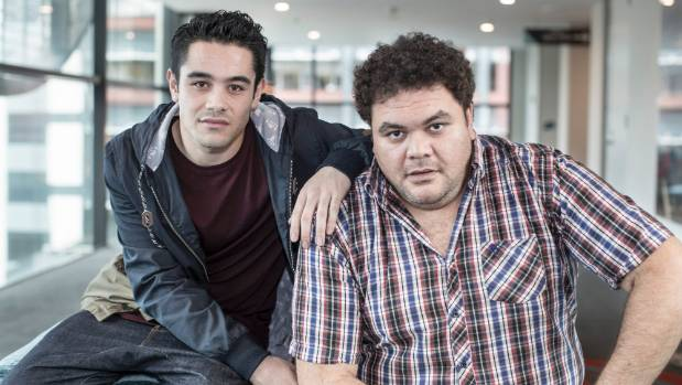 Kahn West and Josh Thomson play Terry Teo and Detective McMurray who team up to fight crime, in the new TVNZ series ...