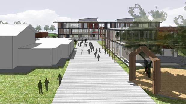 The rebuild will include 64 new teaching spaces built over a three-storey block.
