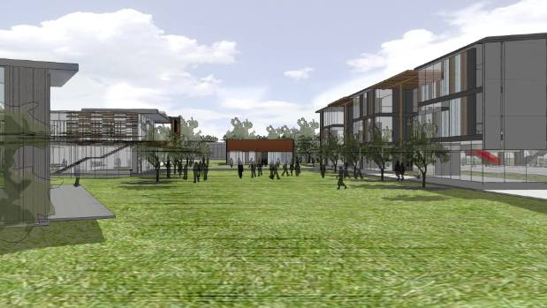 The plans will see open space maximised in the school rebuild.