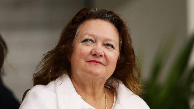 Gina Rinehart is the daughter of late iron-ore developer Lang Hancock. She owns shares in Australia's Ten television ...
