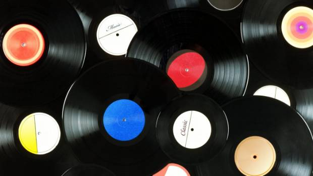 Vinyl sales have outstripped digital music sales for the first time in the UK.