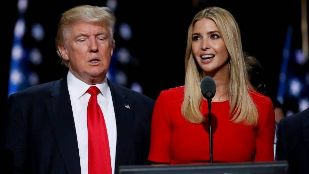 Shannon Coulter says Ivanka Trump isn't just simply Donald Trump's daughter, she's campaigning for him.