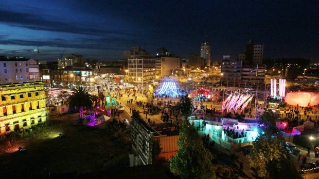 """Could Christchurch's biennual Festa light festival be used to promote the city as """"edgy""""?"""