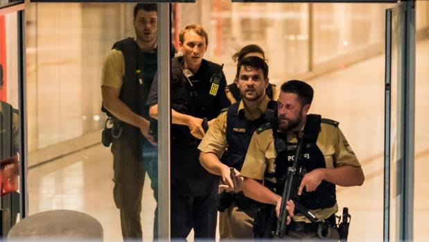 Armed police storm Munich's Olympia mall after gunmen went on a deadly shooting rampage.