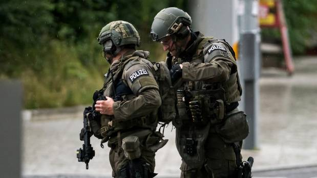 Police special forces had arrived at the scene of the deadly mall shooting.