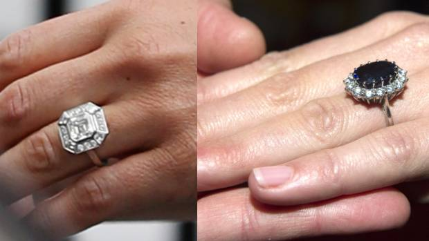 Kate Middleton versus Pippa Middleton an engagement ring analysis