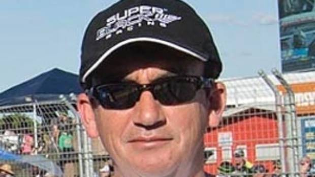 Super Black Racing team founder and owner, Tony Lentino, who has died at his Wellsford home.