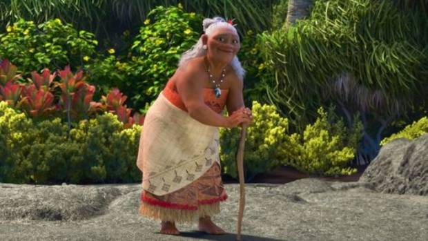 Gramma Tala, voiced by Hunt for the Wilderpeople's Rachel House.
