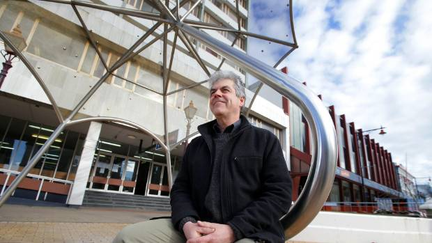 Invercargill Public Art Gallery president David Kennedy pictured on Don St, Invercargill.
