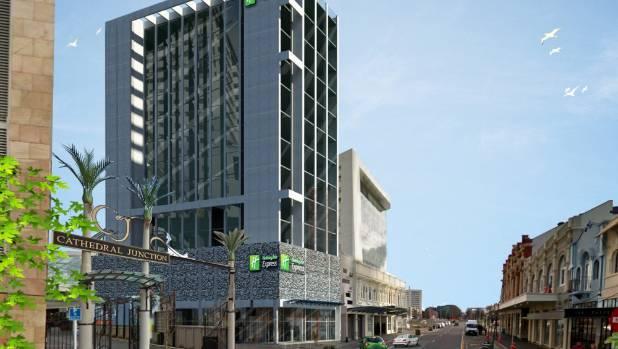 The Holiday Inn Express Hotel Planned For Gloucester St Christchurch