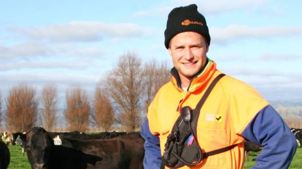 Glenn Weitenberg is the manager of Landcorp's Ruapehu Farm near Levin which won the 2016 Dairy Business of the Year ...